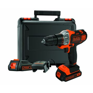 Шуруповёрт MT218KB-QW MultiEvo 18 В BLACK+DECKER