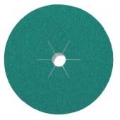 Круг KRONENFLEX CS570 фибровый 125 мм, 1 шт (80) 316497