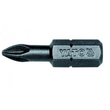 Биты YT-7810 1/4х25 мм PZ1, 50 шт YATO