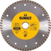 Диск DT3702-QZ алмазный Turbo универсальный 115 х 22,2, h = 7 мм DEWALT