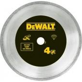 Диск DT3736-XJ алмазный сплошной по керамике 125 х 22,2, h = 7 мм DEWALT
