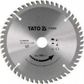 Диск YT-6091 пильный по алюминию 200х30х60 YATO