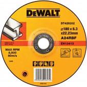 Круг зачистной DT42520Z-QZ по металлу INDUSTRIAL, 180 х 6,3 мм DEWALT