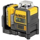 Уровень лазерный DCE0811D1G-QW зеленый луч DeWALT