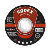 Круг RODEX 125*1.8*22 отрезной по металлу уп25шт