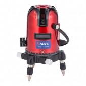 Уровень лазерный E0033 красный, 5 лучей MAX