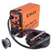 Полуавтомат OMAX MIG-185(MIG/MMA) C Газом/Без газа. 160-260В/1Ф1. Электрододержатель с кабелем