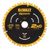 Диск DT20432-QZ пильный 210 x 30 мм, 24T, ATB 7° для DWE7485/DCS7485N
