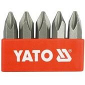 Биты YT-2811 ударные крестовые РН3х36 мм, 5 шт YATO